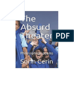 The Absurd Theater:Philosophical poems by Sorin Cerin