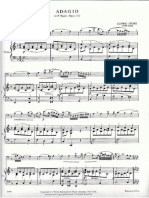 Spohr Adagio in F Major, Op. 115. Bassoon & Piano Part.
