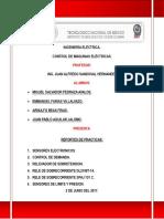 Reportes de Practicas de motores con PLC