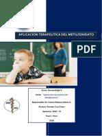 10. Monografia - Aplicacion Terapeutica Del Metilfenidato