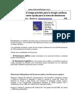 Artículo complementario - EUROSCORE