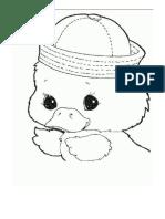 Colorear Pato