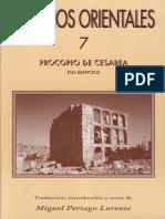 Sobre Los Edificios - Procopio de Cesarea