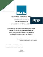 Vânio Nganga - A Suspensão Provisória Do Processo Penal - Versao Final Revista a 21-9-2016