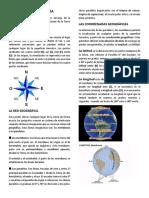 La Cartografía y Coordenadas Geo.. (1)