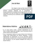 Antropocentrismo de Marx