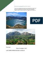 Características Geográficas de La Sierra