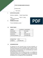 Informe Test de Habilidades Soci[1]
