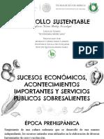 Linea de Tiempo Economia Mexicana