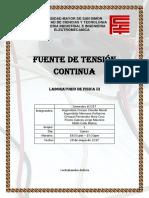 Informe  TENSION ALTERNA