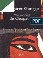 George, Margaret - Memorias De Cleopatra I.pdf