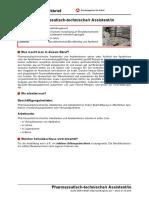 Pharmazeutisch-technische/r Assistent/in