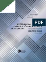 Investigación científica e innovación tecnológica en Argentina. Impacto de los Fondos de la Agencia Nacional de Promoción Científica y Tecnológica copia