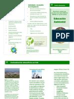 Folleto Informativo-Cuidado Del Medio Ambiente-AndreaSalazarM