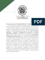 Visioìn Constitucional Del Proceso (SCC Blanco. Cambio Criterio. Pruebas Cuaderno)