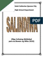 Salindiwa Proposal 2018