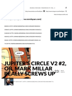 Jupiter's Circle v2 #2, Or, Mark Millar Really Screws Up - NerdSpan