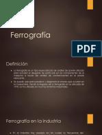 Ferrografía