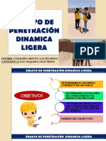 Ensayo de Penetración Dinamica Ligera Dpl