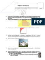 EXAMEN DE MATEMÁTICAS 4° (2)
