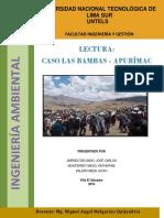 Conflicto Socio-Ambiental Las Bambas Apurímac