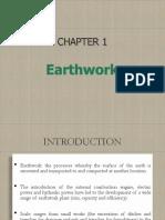 Chapter 1 - Earthwork