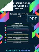 Presentación Proyecto aeropista Denver