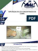 IMPUREZAS EN LOS CONCENTRADOS DE COBRE.pptx