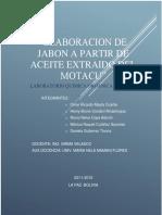 Informe Elaboracion de Jabon a Partir de Aceite Extraido Del Motacu-1