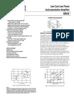 Analog Devices AD620BNZ Datasheet