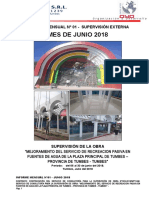 Informe Mensual 001 - Junio 2018
