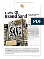 1.0 How to Brand Sand