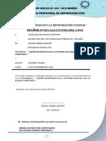 INFORME DE INGENIERO -MANUAL DE CIVIL 3D