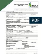 1.2. Formulario Categorizacion ACOPIO VICHAJLUPE