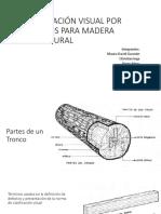 Clasificación Visual Por Defectos Para Madera Estructural