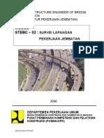 2006-02-Survey Lapangan Pekerjaan Jembatan
