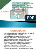 Primeros Auxilios - Quemaduras .pptx