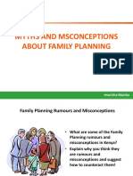 FP Misconceptions and behaviors