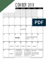 december-2018-calendar 1