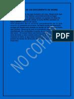 Edicion de Un Documento de Word