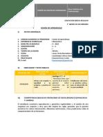 Sesión de clase - Ecuación Lineal.docx
