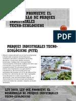 Ley Que Promueve El Desarrollo de Parques Industriales