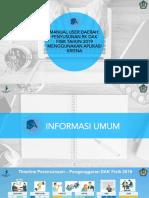 Update Manual User Daerah