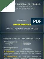 Curso Mineralogía