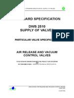 Air Release Vacuum