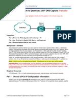 9.2.3.5 Lab - Using Wireshark to Examine a UDP DNS Capture - ILM