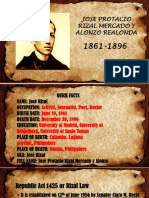 Jose p. Rizal. Gsoberano
