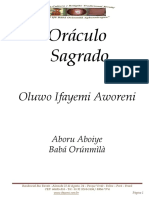 Oráculo Sagrado Ifayemi - 01 Ogbé-1-1