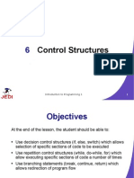 JEDI Slides Intro1 Chapter 06 Control Structures