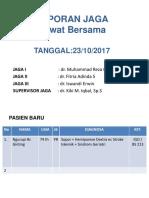 Laporan Jaga 231017